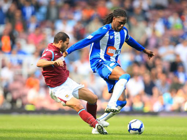 Soccer - Barclays Premier League - West Ham United v Wigan Athletic - Upton Park