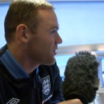 Wayne Rooney Interviews Leon Osman & Leighton Baines On Train Down To Wembley (Video)