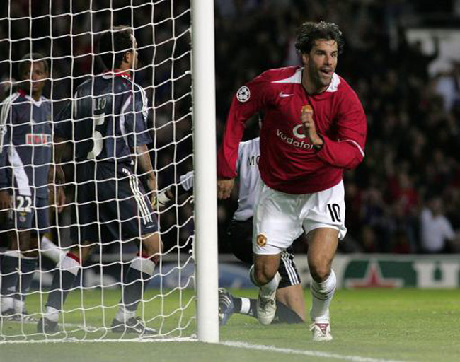 Image result for ruud van nistelrooy uefa champions league