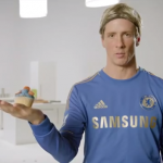 Fernando Torres Gets His Cupcake On In Strange Samsung Advert (Video)