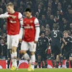 Champions League: Arsenal 1-3 Bayern Munich – More Woe At The Emirates As Gunners Outclassed By German Giants (Photos & Highlights)
