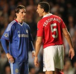 Rio Ferdinand Kicks Fernando Torres Before Lifting Him Back Onto His Feet  (Video)