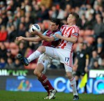 Soccer - Barclays Premier League - Stoke City v West Ham United - Britannia Stadium