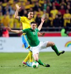Soccer - FIFA World Cup 2014 Qualifying - Group C - Sweden v Republic of Ireland - Friends Arena