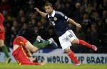 Soccer - FIFA World Cup 2014 Qualifying - Group A - Scotland v Wales - Hampden Park