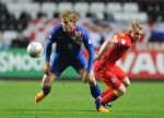 Soccer - FIFA World Cup 2014 Qualifying - Group A - Wales v Croatia - Liberty Stadium