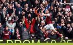Soccer - Barclays Premier League - West Ham United v West Bromwich Albion - Upton Park