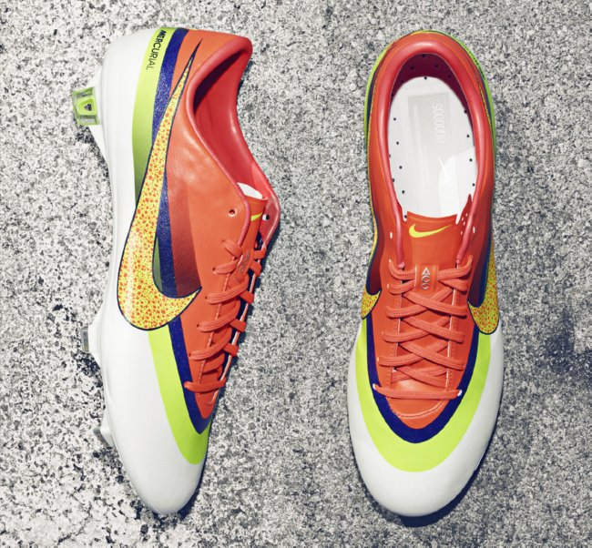c663b226a Cristiano Ronaldo s New Nike Mercurial Boots Are What One Might Call   Garish  (Photos)