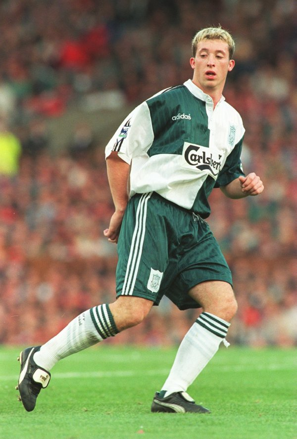 the best attitude d0eb6 9b9a8 Problems at Southampton for Liverpool's 1993-96 third kit ...