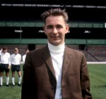 Derby County manager Brian Clough poses during a pre-season photocall at the Baseball Ground (back when it had grass), 1969