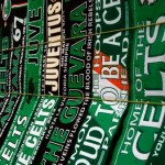 Touching Moment As Juventus & Celtic Fan Swap Scarves Over Stadium Wall (Video)
