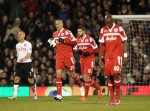 Soccer - Barclays Premier League - Fulham v Queens Park Rangers - Craven Cottage