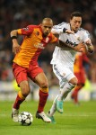 Soccer - UEFA Champions League - Quarter Final - First Leg - Real Madrid v Galatasaray - Santiago Bernabeu