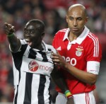 Europa League: Benfica 3-1 Newcastle – Magpies Downed By Super Eagles In Portugal (Photos & Highlights)