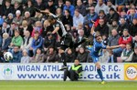 Soccer - Barclays Premier League - Wigan Athletic v Tottenham Hotspur - DW Stadium