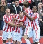 Stoke 1-0 Norwich – Adam Fires Potters Towards Top-Tier Safety (Photos & Highlights)