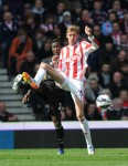 Soccer - Barclays Premier League - Stoke City v Norwich City - Britannia Stadium