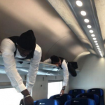 Snapshot: Ever Wanted To See Balotelli, El Shaarawy & Niang Asleep In A Train's Overhead Baggage Compartment?