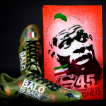 Portuguese Designer Makes Mario Balotelli His Own Custom Camouflage Boots (Photos)