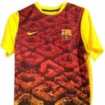 Shit Football Kits: Barcelona's New Training Clobber Might Be Bloody Awful