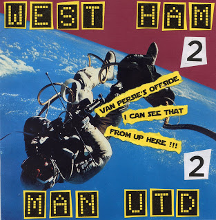 Brilliant 'Punk Aesthetic' West Ham Artwork – Is Saitch Yer Daddy?