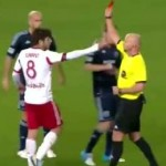 Juninho Pernambucano Shown Just About The Stupidest Red Card You're Likely To See vs Sporting KC (Video)