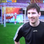 Lionel Messi Repeatedly Thwarted By Robotic Keeper On Japanese Gameshow (Video)