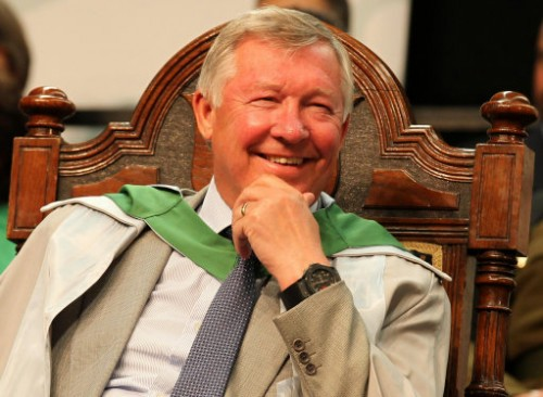 Sport - Sir Alex Ferguson Receives An Honorary Degree - Stirling University