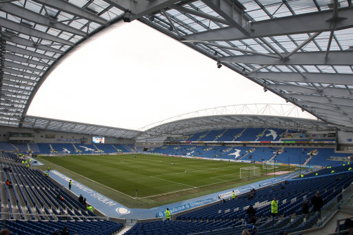 Soccer - npower Football League Championship - Brighton and Hove Albion v Burnley - AMEX Stadium