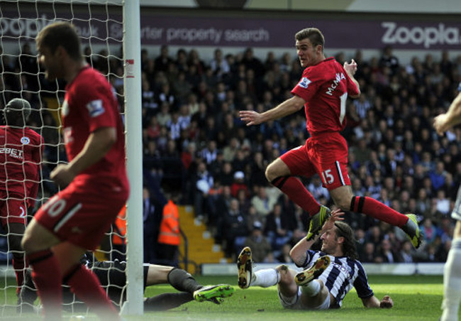 Soccer - Barclays Premier League - West Bromwich Albion v Wigan Athletic - The Hawthorns