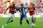 Soccer - Barclays Premier League - Wigan Athletic v Swansea City - DW Stadium