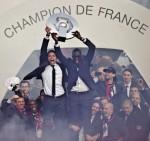 France Soccer PSG Celebrations