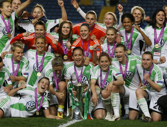 Wolfsburg end Lyon's reign in Women's Champions League