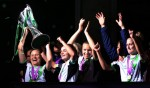 Soccer - Women's UEFA Champions League Final - Olympique Lyonnais v VfL Wolfsburg - Stamford Bridge