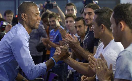 Spain Soccer Abidal