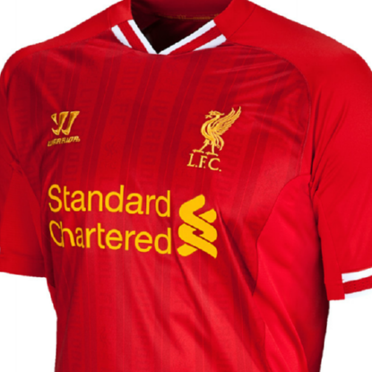 New Liverpool Home Kit For 2013/14 Unveiled – Red, Ravishing And Retrolicious (Photo)
