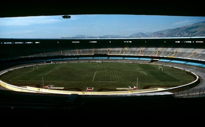 Soccer - Estadio do Maracana