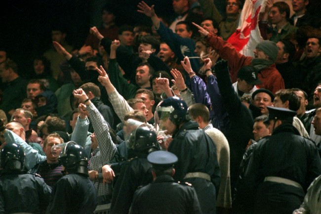 The Lansdowne Road Riot: The Last Time England Played Republic Of Ireland, 1995 (Photos) | Who ...