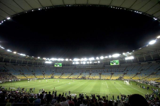 Brazil Maracana Reopening