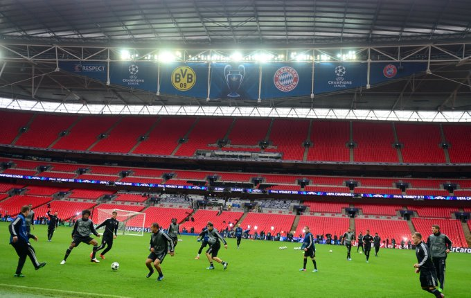 Soccer - UEFA Champions League - Final - Borussia Dortmund v Bayern Munich - Bayern Munich Training and Press Conference - Wembley Stadium