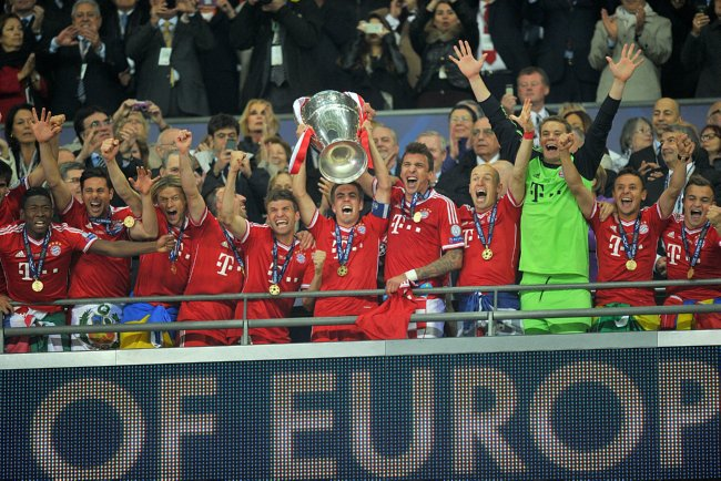 Snapshot: Bayern Munich Are The Chaaaaaaaaaaaaaaaaaampions!