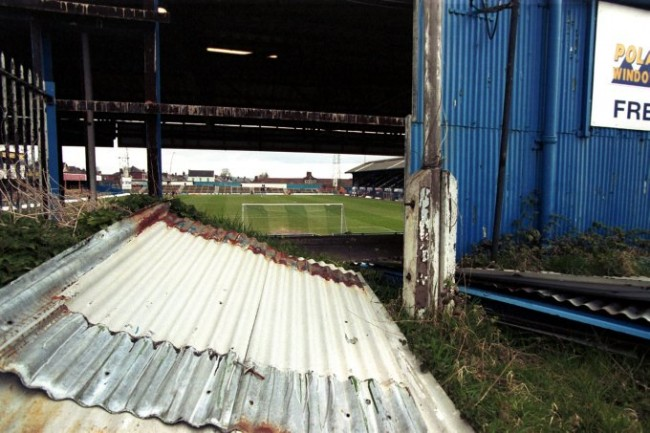 Soccer - Nationwide League Division Three - Chesterfield v Kidderminster Harriers