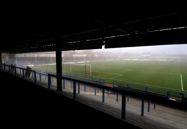 Soccer - FA Cup - Second Round - Chesterfield v Droylsden - Saltergate