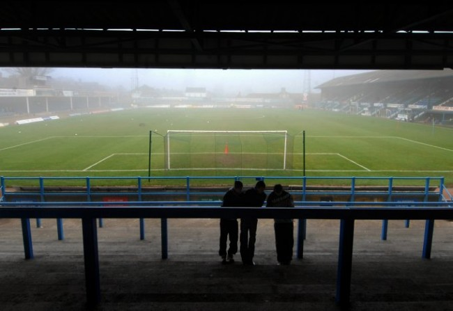 Soccer - FA Cup - Second Round - Chesterfield v Droylsden - Saltergate