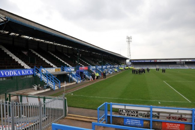 Soccer - Coca-Cola Football League Two - Chesterfield v Darlington - Recreation Ground