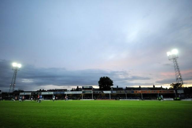 Soccer - Pre Season Friendly - Chesterfield v Sheffield United - Recreation Ground