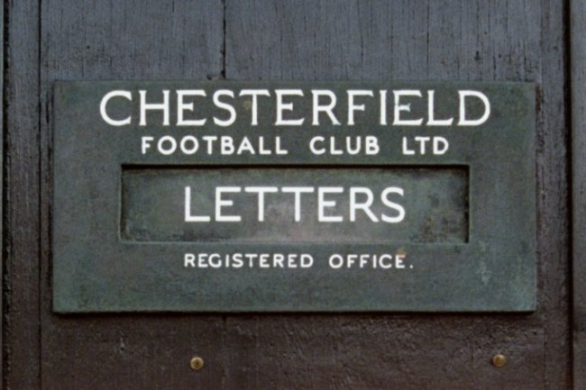 Soccer - FA Cup - Round 6 - Chesterfield v Wrexham - Saltergate