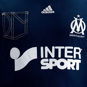 Shit Football Kits: Marseille Unveil New 'Denim' Third Kit, Complete With Jeans-Style Pocket