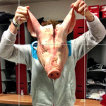 Stoke Striker Kenwyne Jones Finds Pig&#8217;s Head In Locker, Smashes In Glenn Whelan&#8217;s Car Windshield