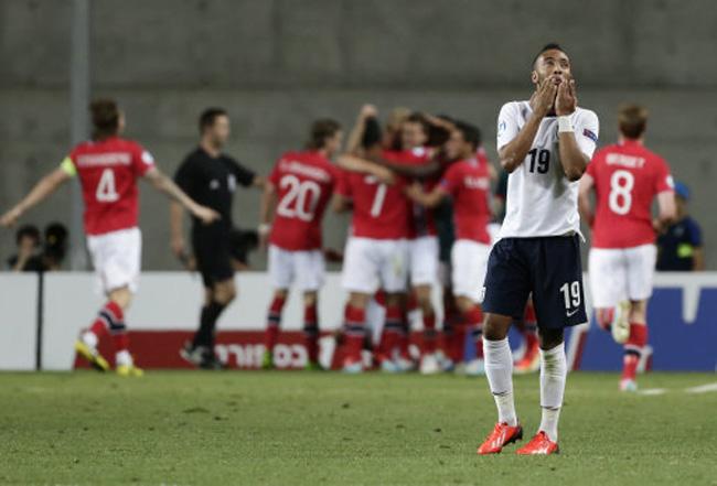 Mideast Israel U21 Europeans Soccer